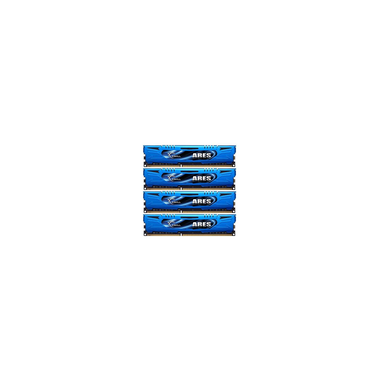 Модуль памяти для компьютера DDR3 16GB (4x4GB) 1600 MHz G.Skill (F3-1600C9Q-16GAB)