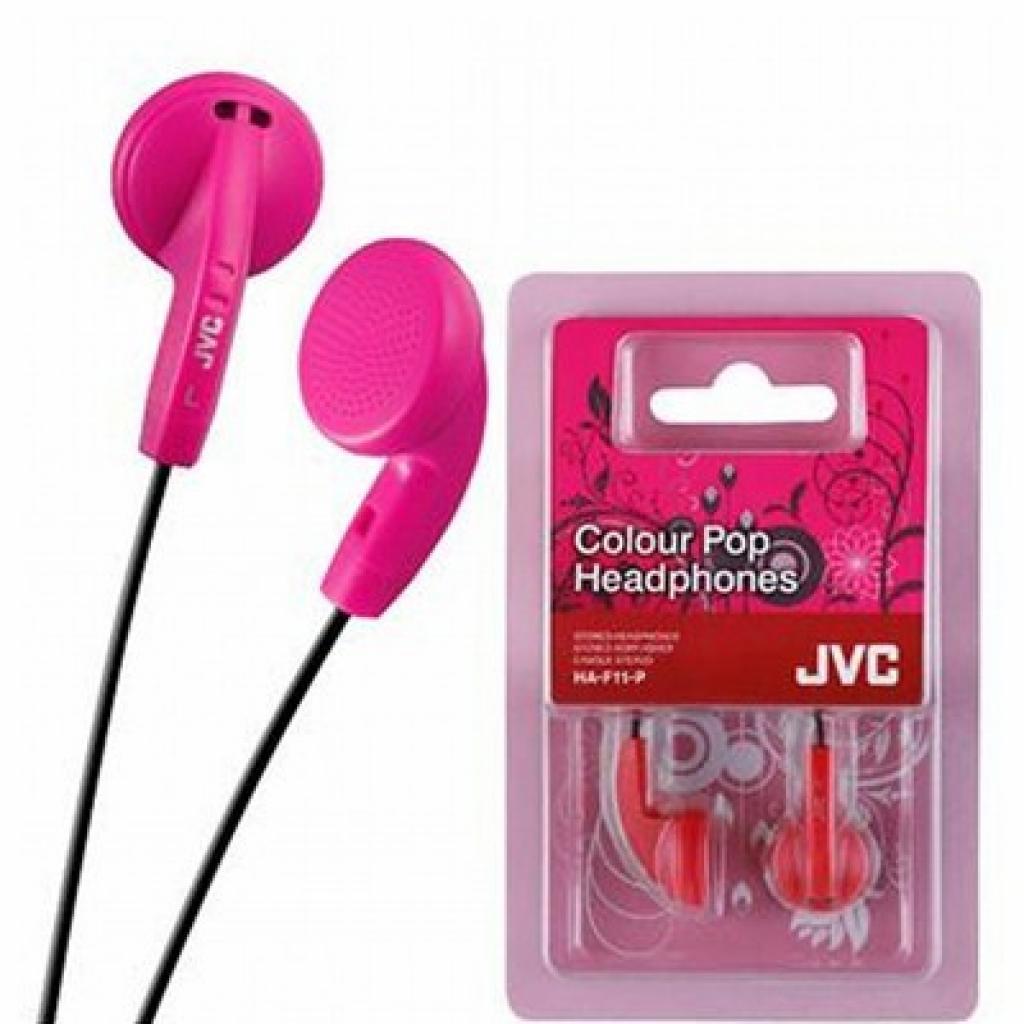 Наушники JVC HA-F11 Pink (HA-F11-P-E)