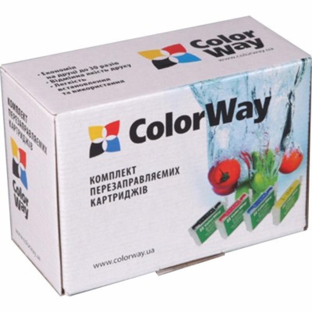 Комплект перезаправляемых картриджей ColorWay BROTHER LC-61/LC-980/LC-1100 (DCP145RN-0.0)