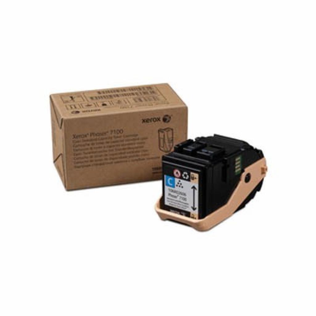 Тонер-картридж XEROX PH7100 Cyan (106R02606)