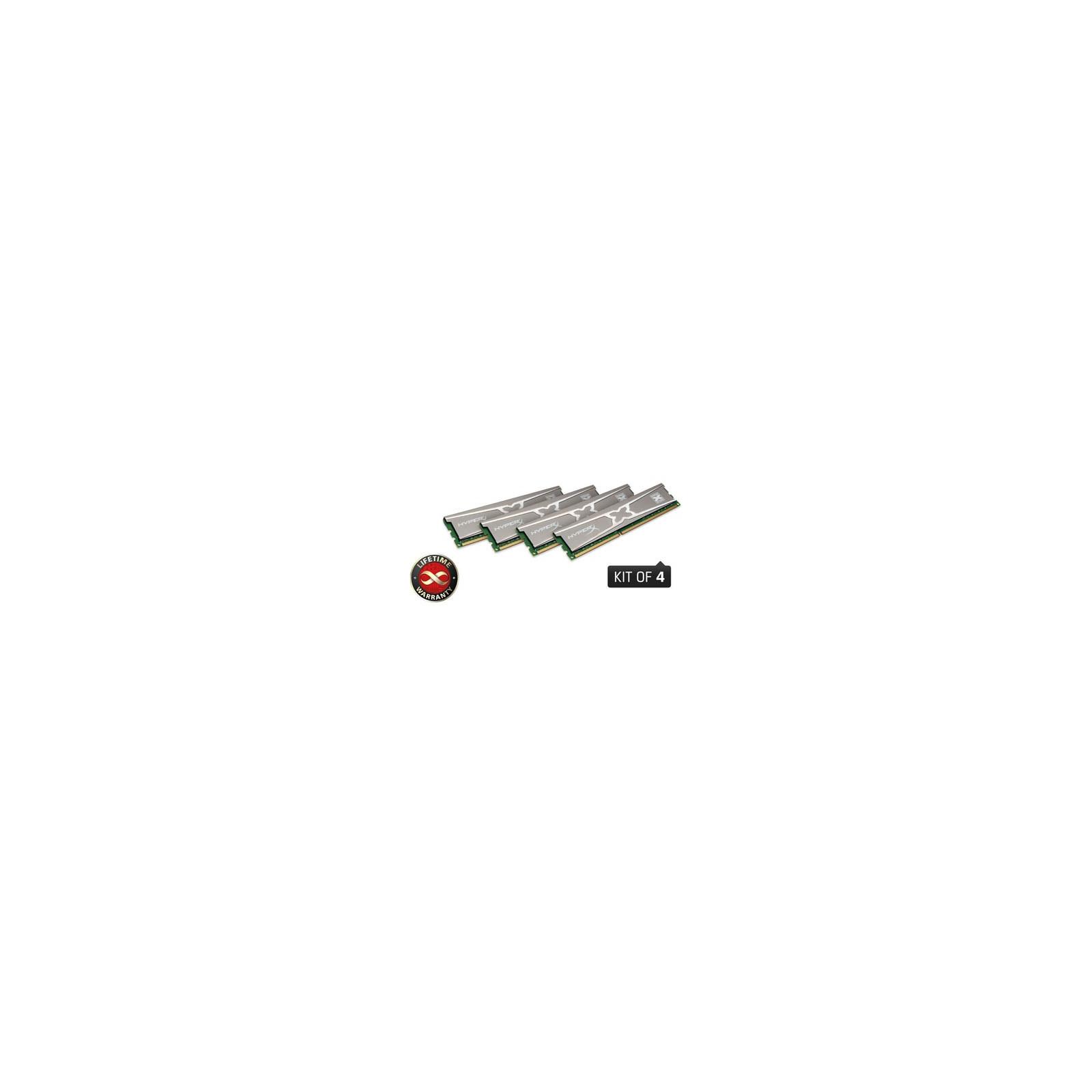 Модуль памяти для компьютера DDR3 16GB (4x4GB) 2400 MHz Kingston (KHX24C11X3K4/16X)