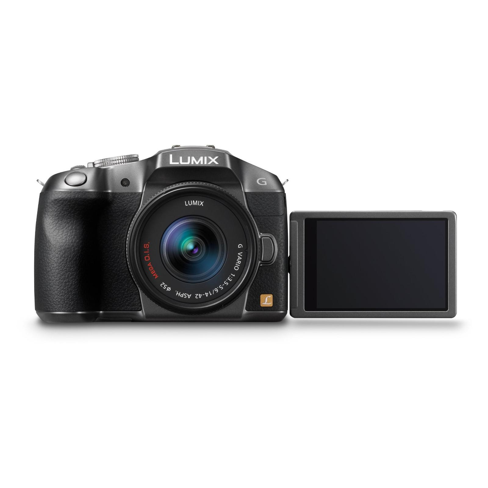 Цифровой фотоаппарат PANASONIC DMC-G6 silver 14-42 kit (DMC-G6KEE-S) изображение 3