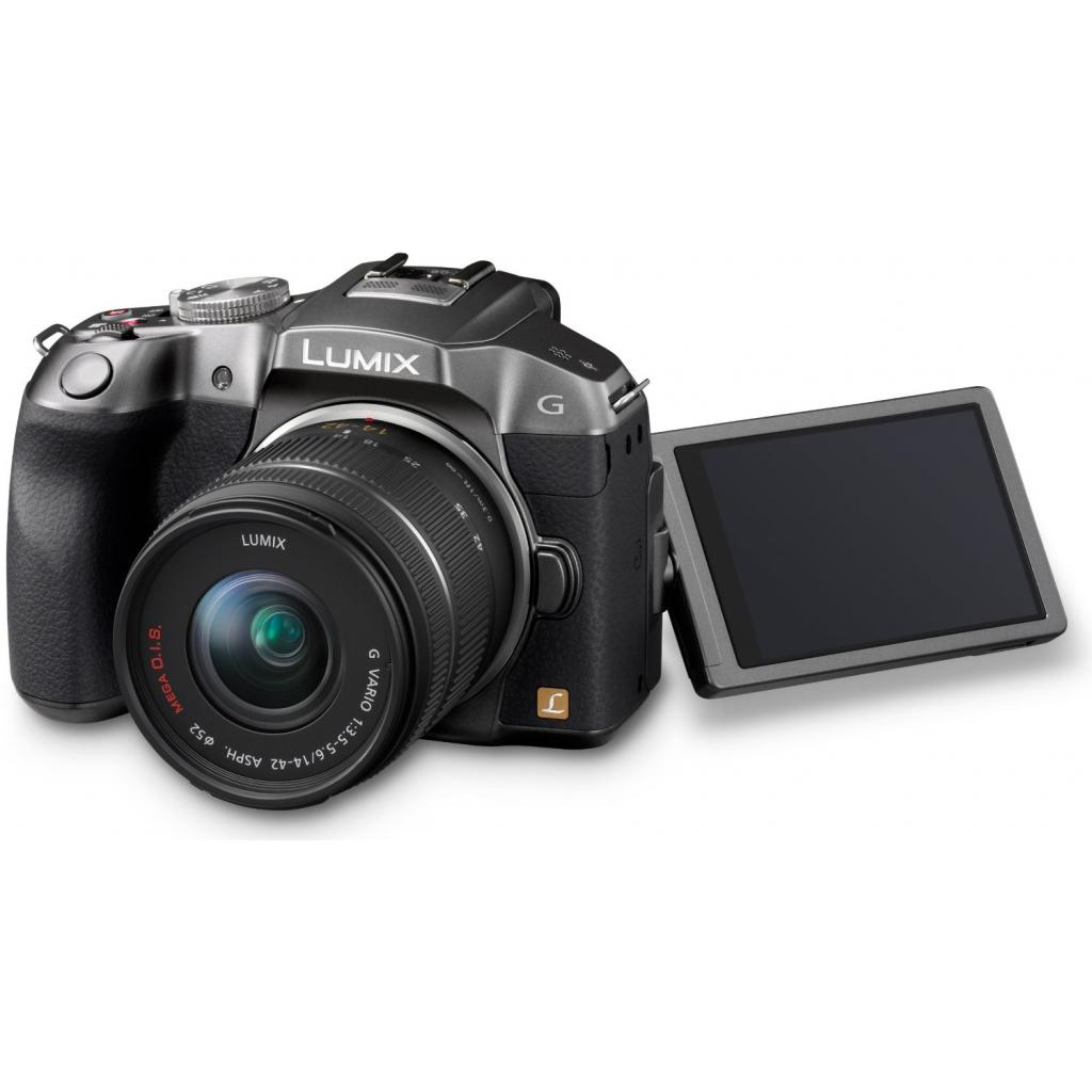 Цифровой фотоаппарат PANASONIC DMC-G6 silver 14-42 kit (DMC-G6KEE-S) изображение 4