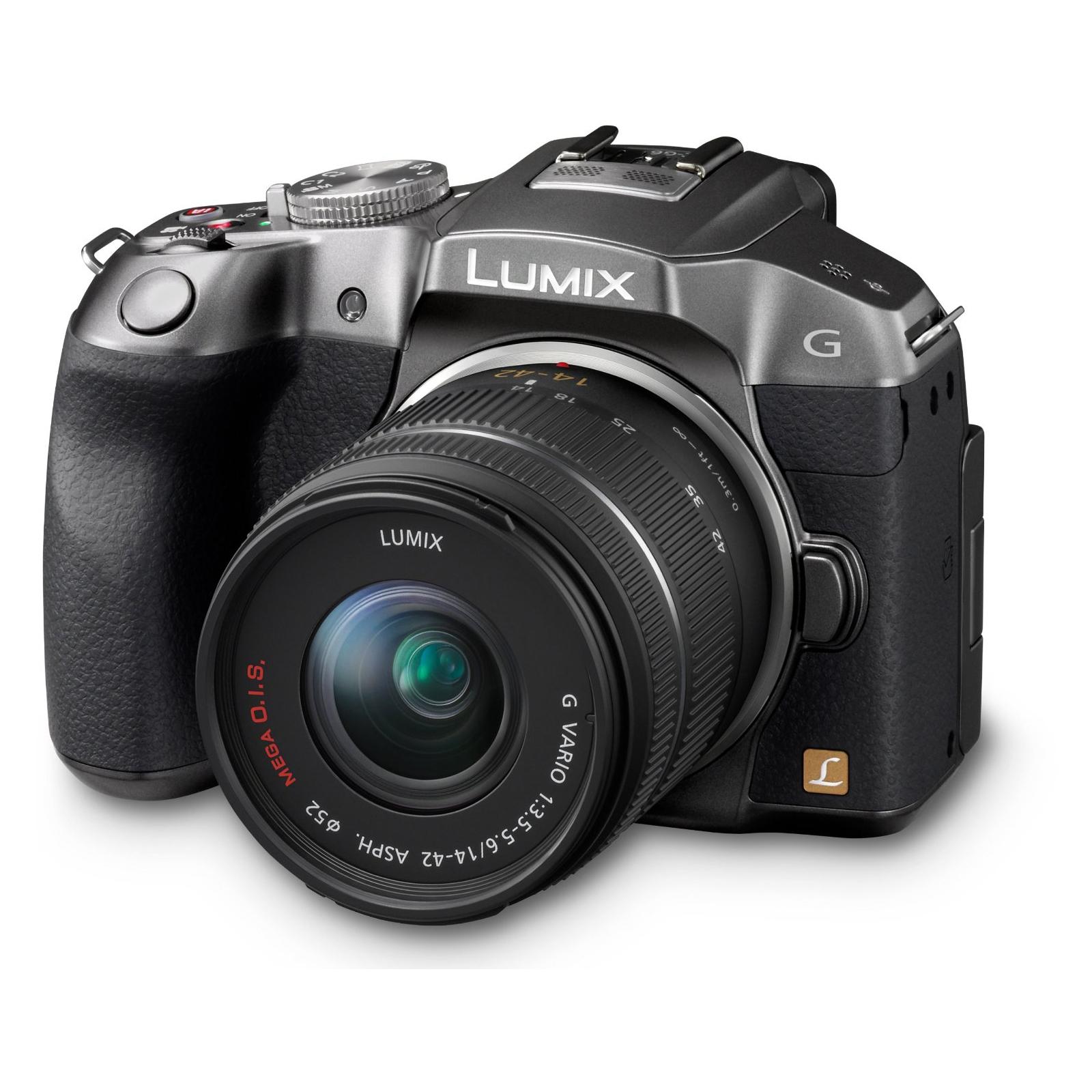 Цифровой фотоаппарат PANASONIC DMC-G6 silver 14-42 kit (DMC-G6KEE-S)