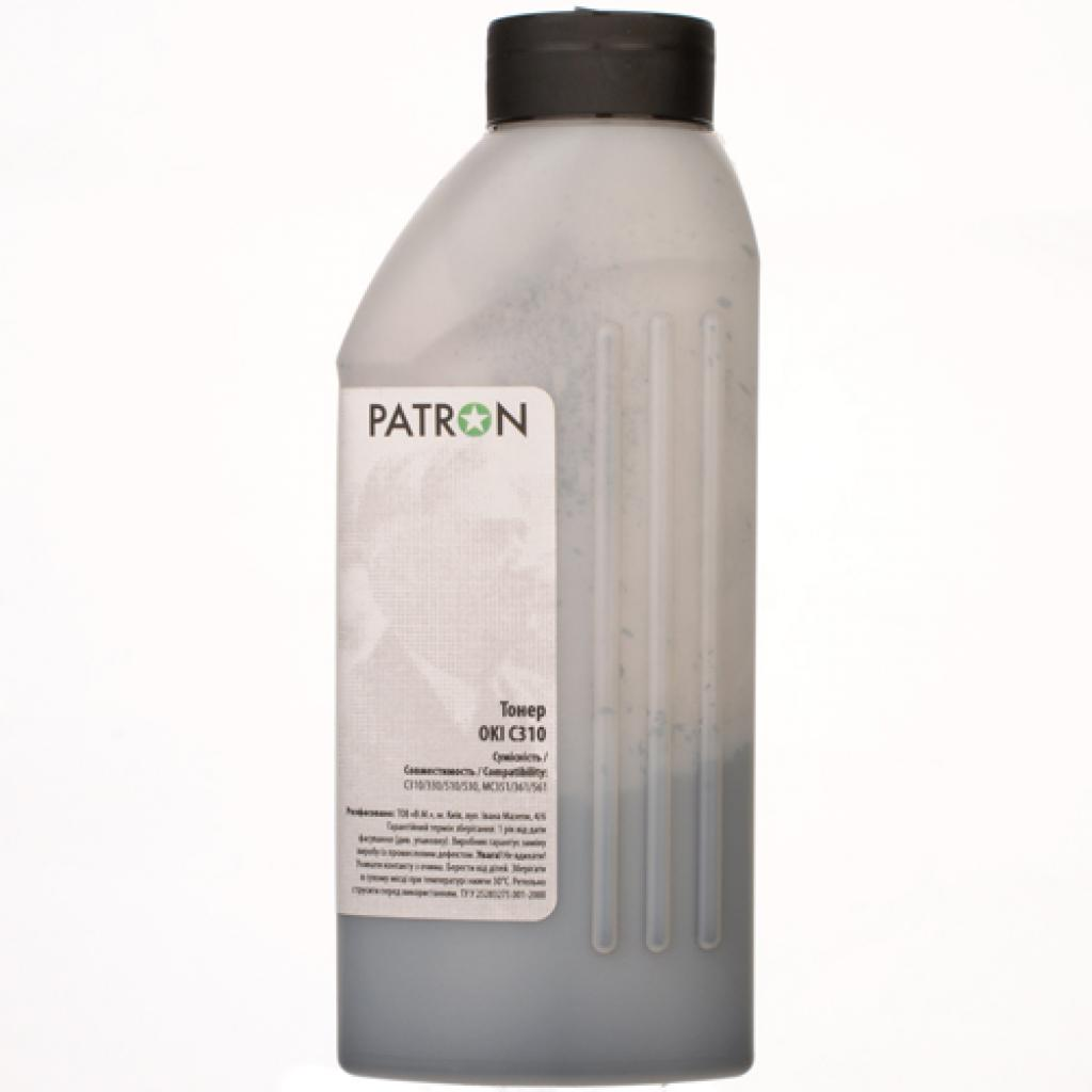 Тонер PATRON OKI C310 BLACK 80г (T-PN-OC310-B-080) изображение 2