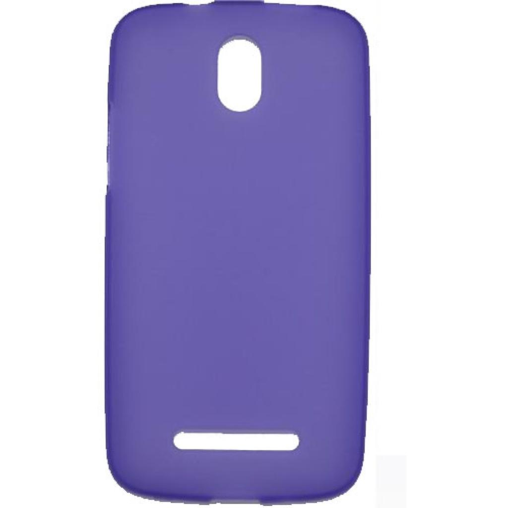 Чехол для моб. телефона Mobiking Samsung I8262 Violet/Silicon (24597)