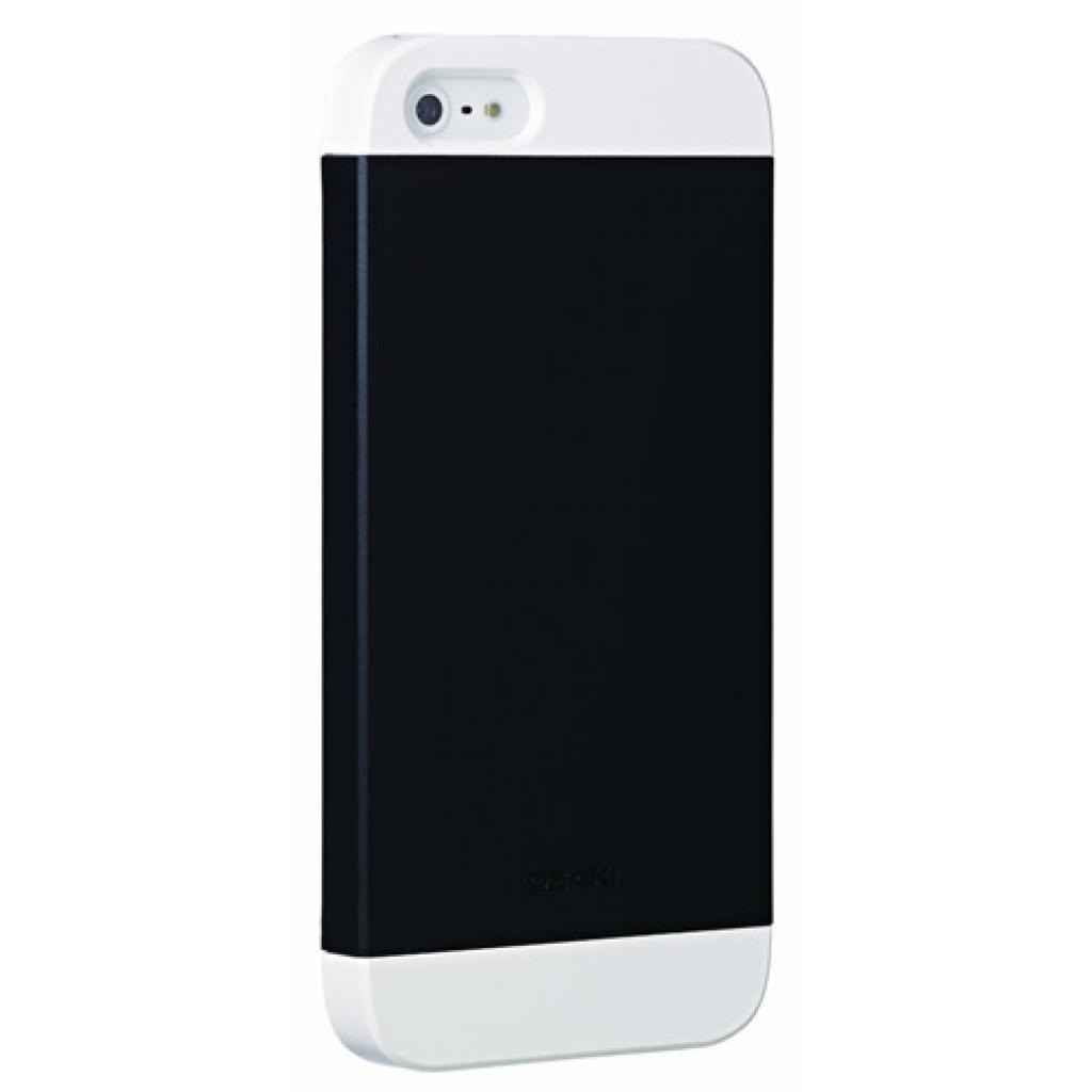 Чехол для моб. телефона OZAKI iPhone 5/5S O!coat wardrobe+ White/Black/White (OC549WH/BK/WH)