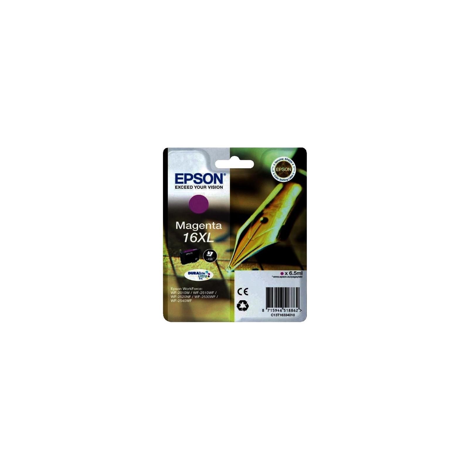 Картридж EPSON 16XL WF-2010 magenta (C13T16334010)