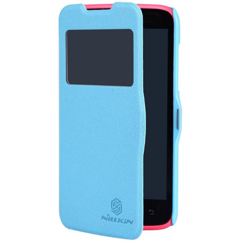 Чехол для моб. телефона NILLKIN для Lenovo A516 /Fresh/ Leather/Blue (6116628) изображение 3