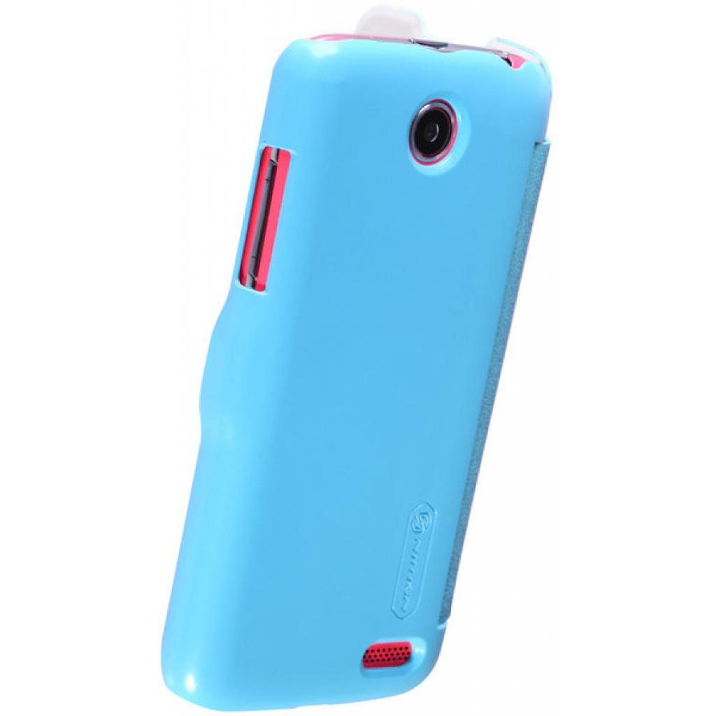 Чехол для моб. телефона NILLKIN для Lenovo A516 /Fresh/ Leather/Blue (6116628) изображение 4