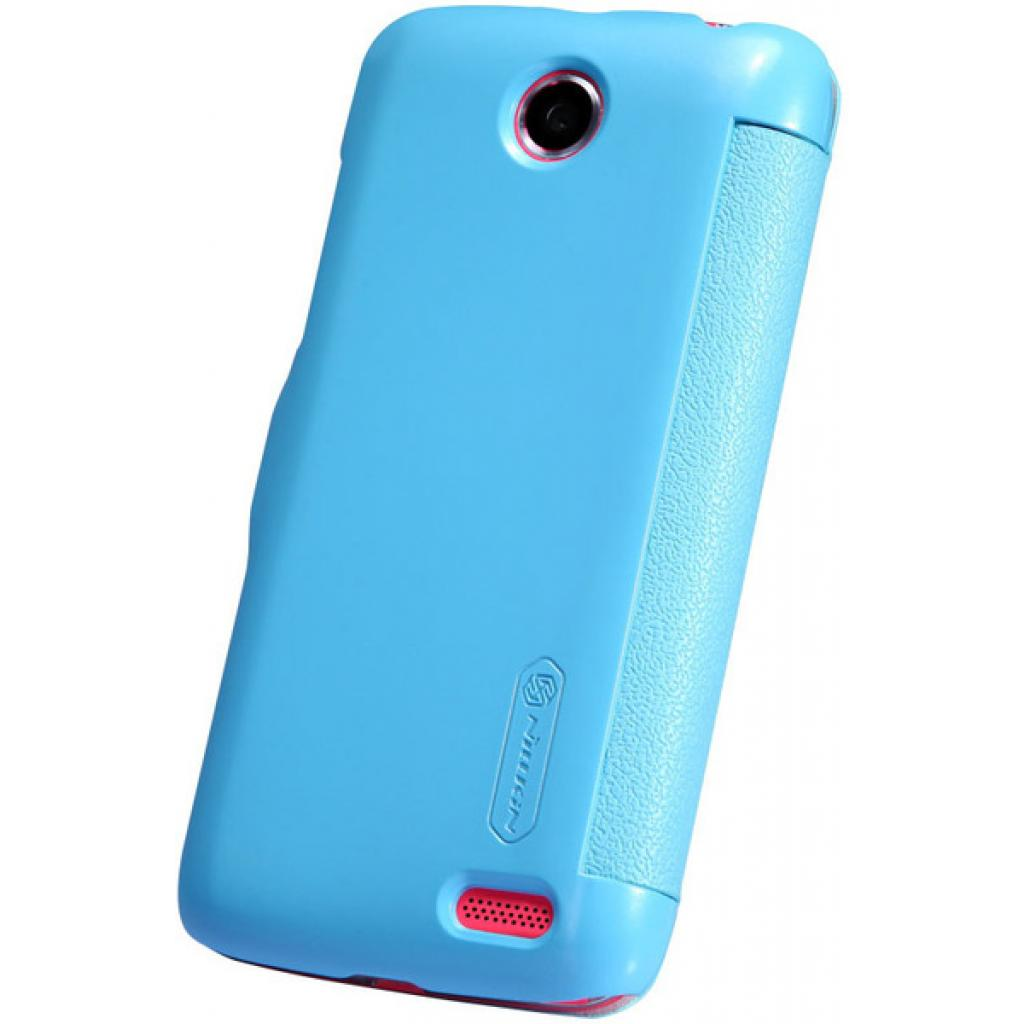 Чехол для моб. телефона NILLKIN для Lenovo A516 /Fresh/ Leather/Blue (6116628) изображение 5