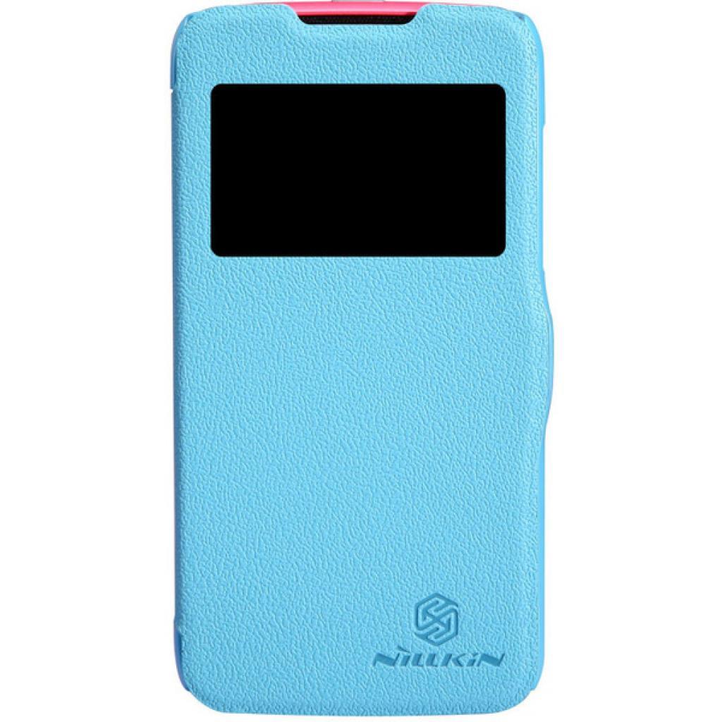 Чехол для моб. телефона NILLKIN для Lenovo A516 /Fresh/ Leather/Blue (6116628)