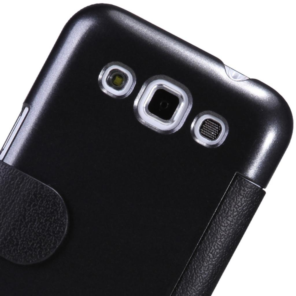 Чехол для моб. телефона NILLKIN для Samsung I8552 /Fresh/ Leather/Black (6065834) изображение 2