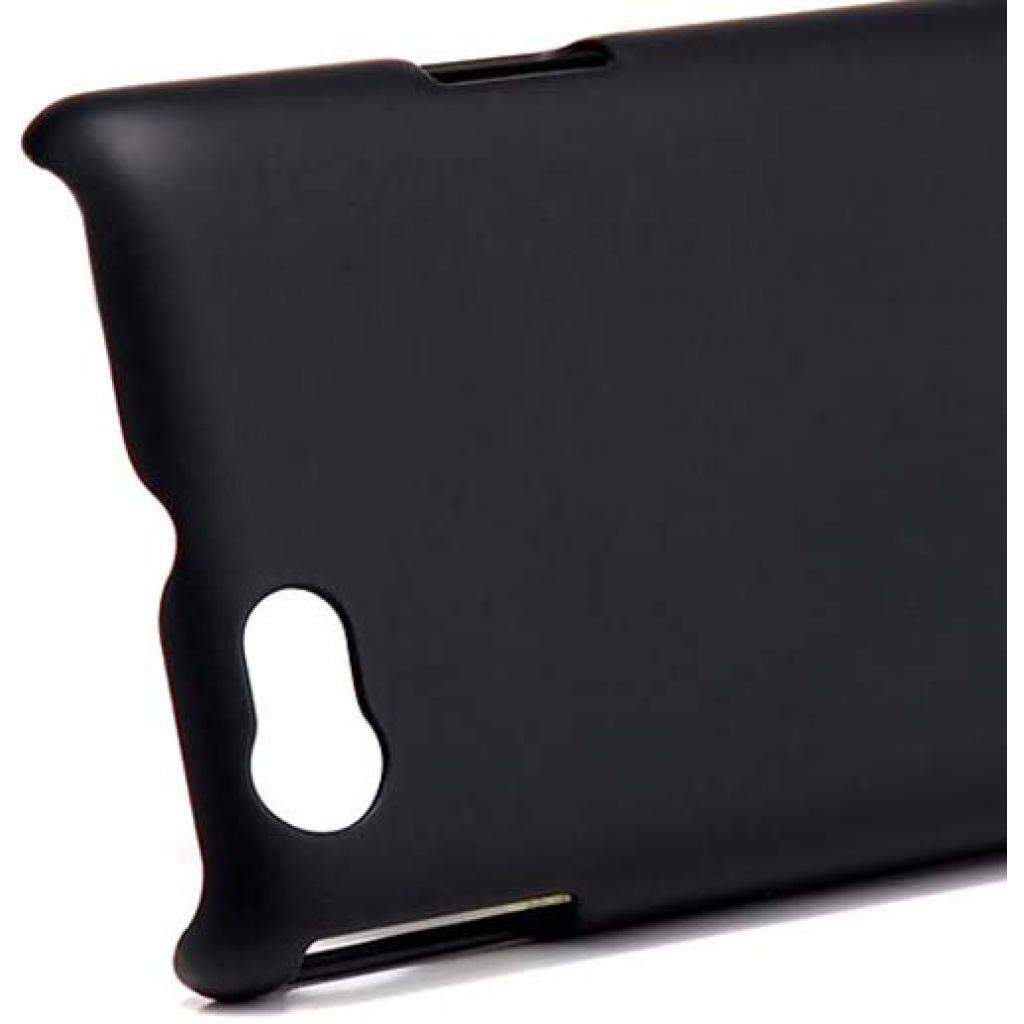 Чехол для моб. телефона NILLKIN для Sony Xperia Miro /Super Frosted Shield/Black (6088774) изображение 4