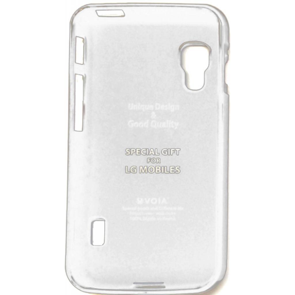 Чехол для моб. телефона VOIA для LG E455 Optimus L5II Dual /Jelly/White (6068209)