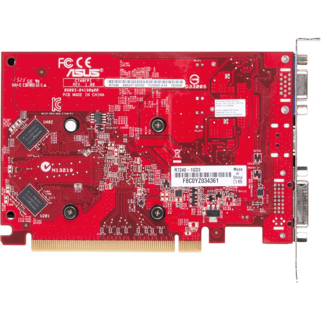 Видеокарта Radeon R7 240 1024Mb ASUS (R7240-1GD3) изображение 3