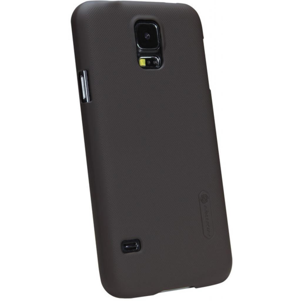 Чехол для моб. телефона NILLKIN для Samsung G900/S-5/Super Frosted Shield/Brown (6135229) изображение 2