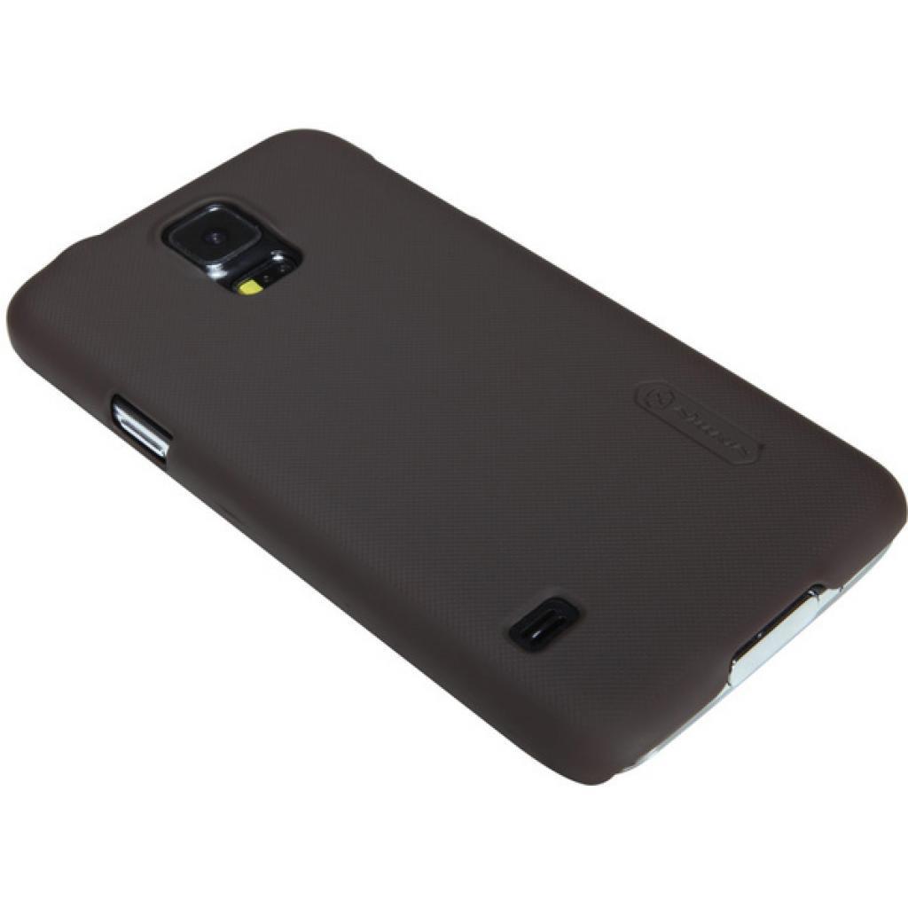 Чехол для моб. телефона NILLKIN для Samsung G900/S-5/Super Frosted Shield/Brown (6135229) изображение 3