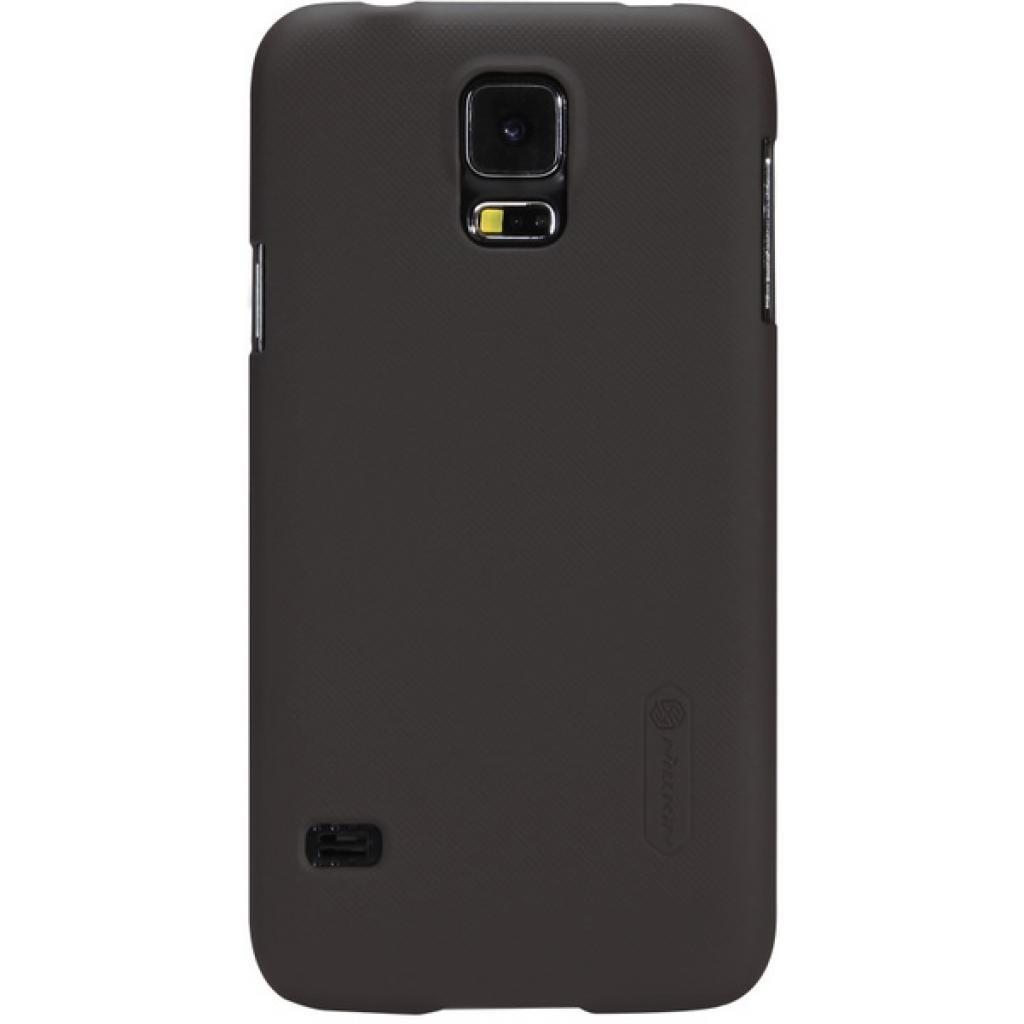 Чехол для моб. телефона NILLKIN для Samsung G900/S-5/Super Frosted Shield/Brown (6135229)