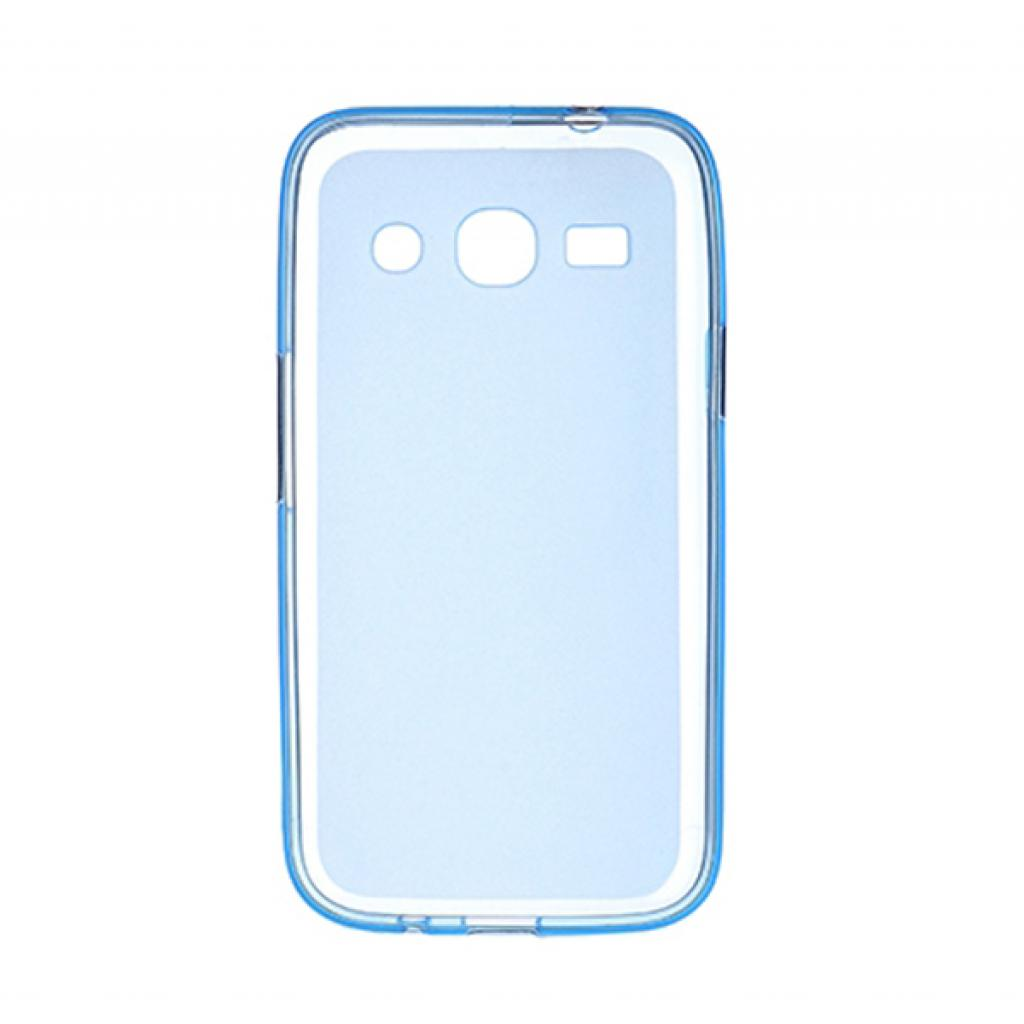 Чехол для моб. телефона Drobak для Samsung Galaxy Star Advance G350 Blue Сlear /Elastic PU/ (218656) изображение 2