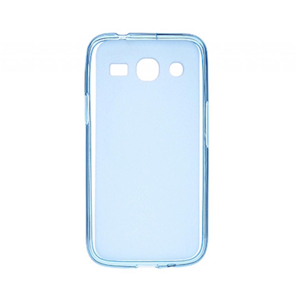 Чехол для моб. телефона Drobak для Samsung Galaxy Star Advance G350 Blue Сlear /Elastic PU/ (218656)
