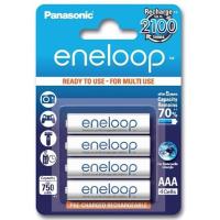 Аккумулятор PANASONIC Eneloop AAA 750mAh NI-MH * 4 (BK-4MCCE/4BE)