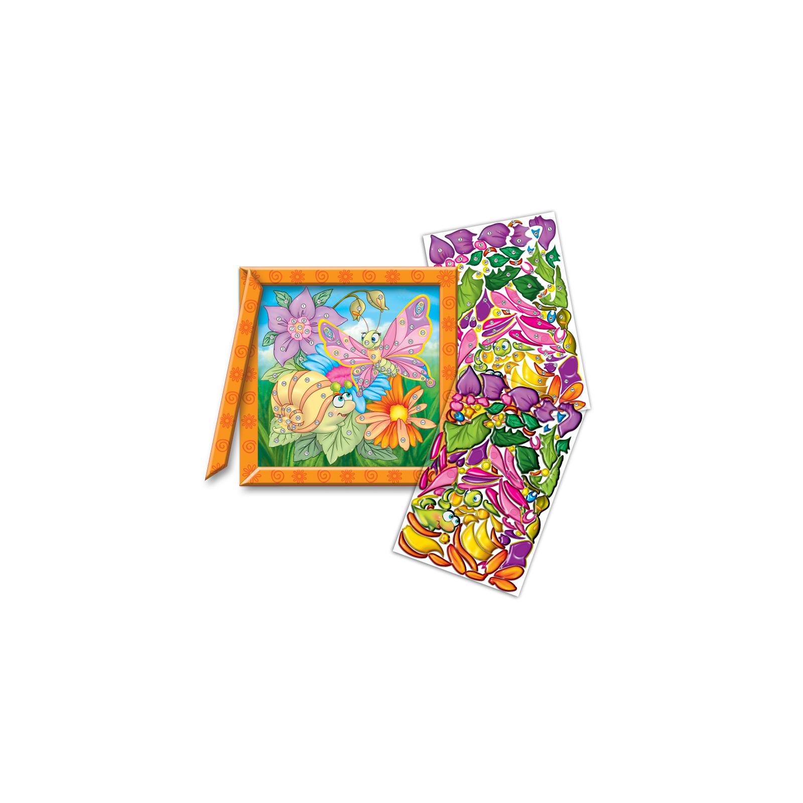 Набор для творчества Vladi Toys Кристалл картина Бабочка и улитка (VT4010-03) изображение 2