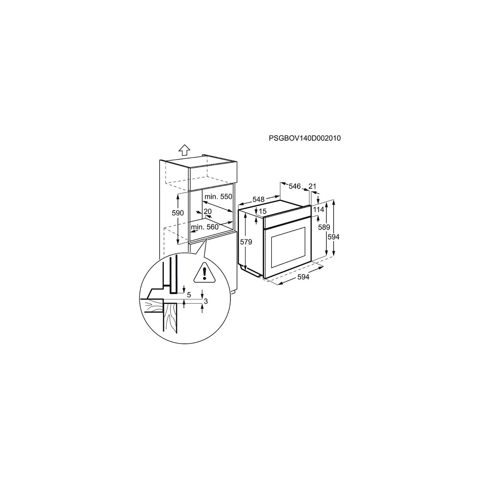 Духовой шкаф ELECTROLUX EOA 95551 AV (EOA95551AV) изображение 3