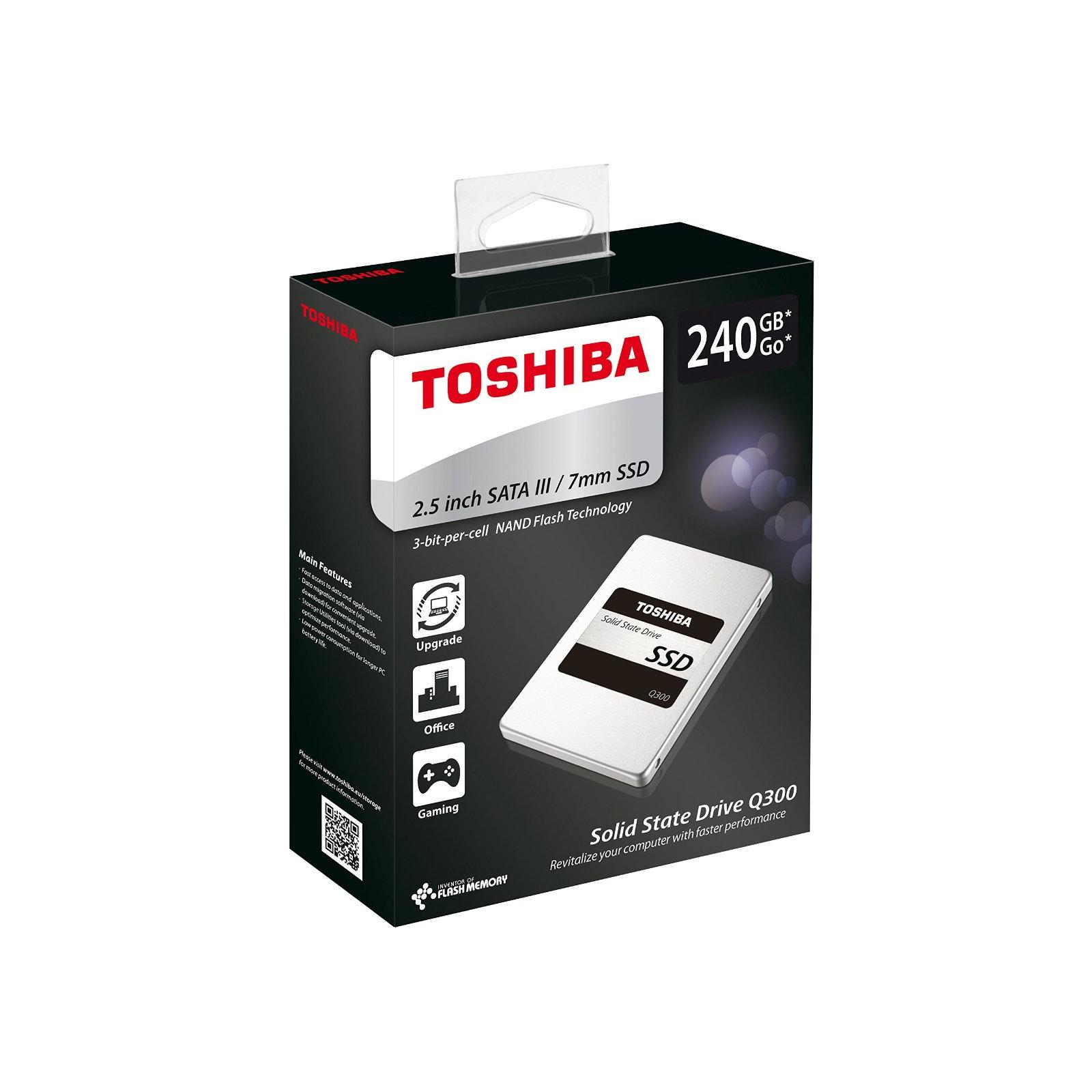 """Накопитель SSD 2.5"""" 240GB TOSHIBA (HDTS724EZSTA) изображение 5"""