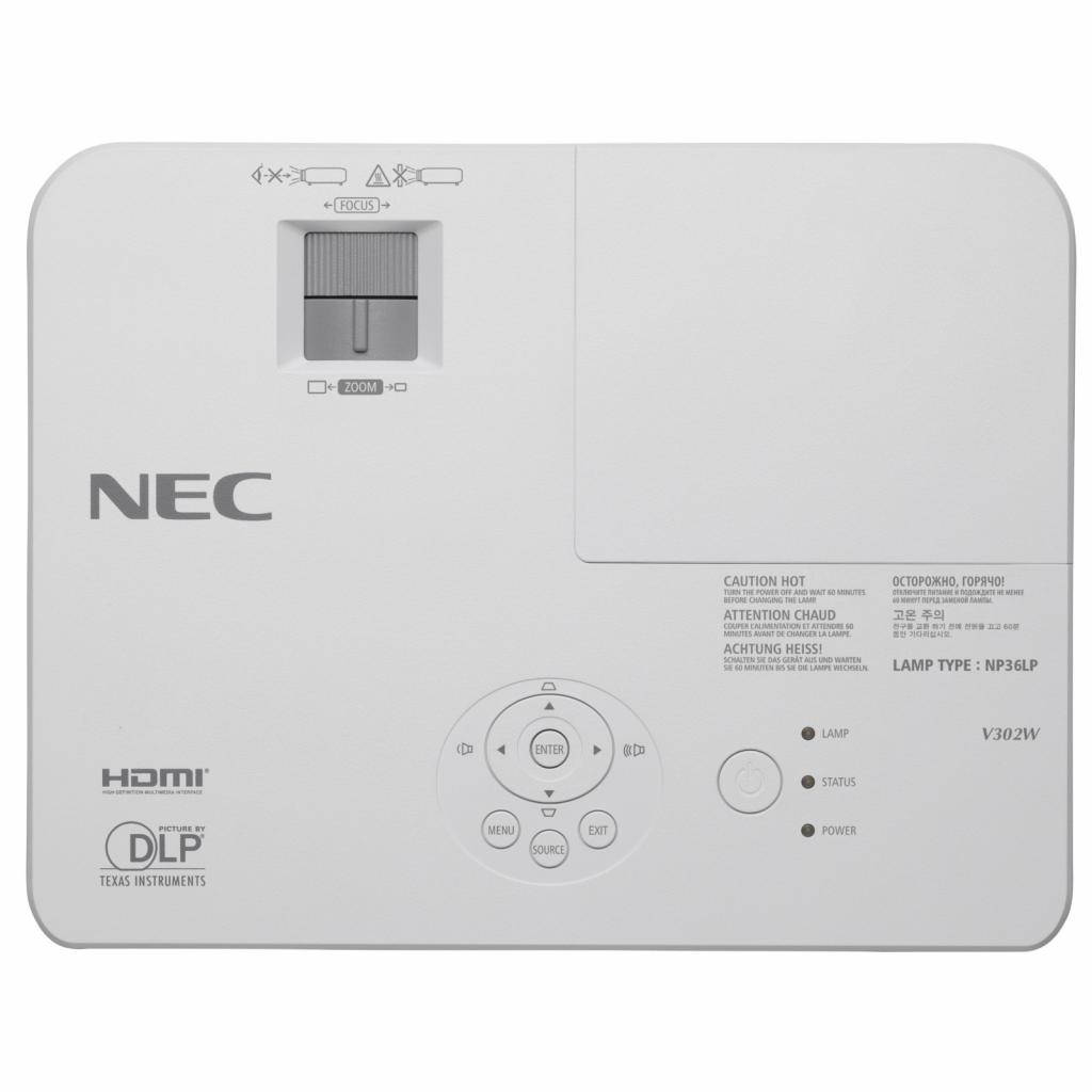 Проектор NEC V302XG (60003893) изображение 5