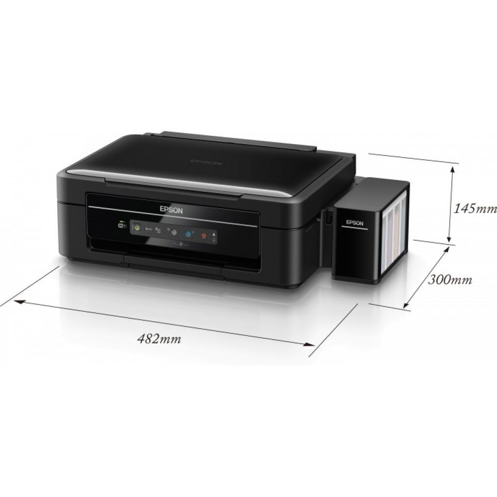 Многофункциональное устройство EPSON L366 c WiFi (C11CE54403) изображение 9