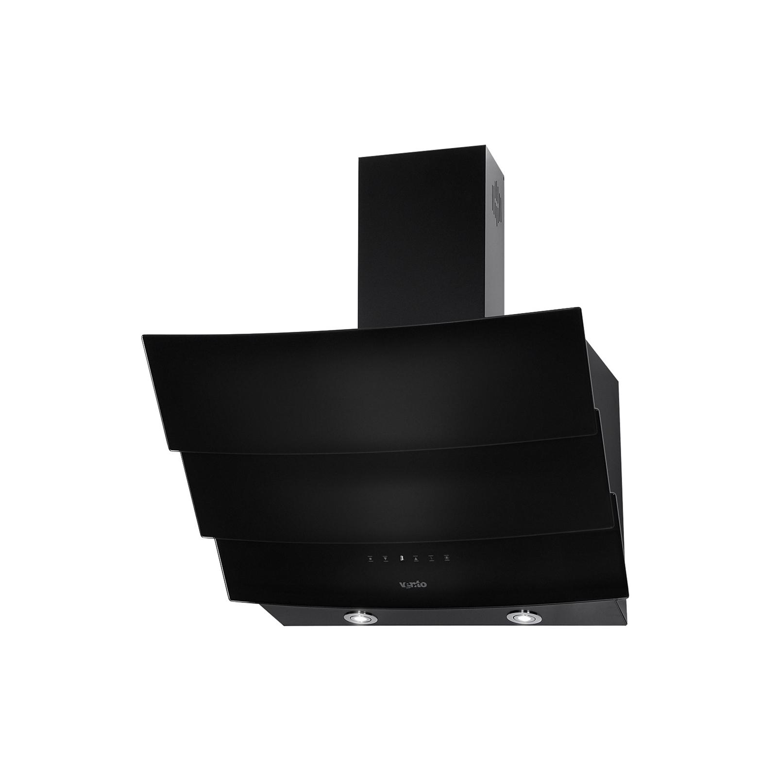 Вытяжка кухонная VENTOLUX RIALTO 60 BK (1000) TRC IT