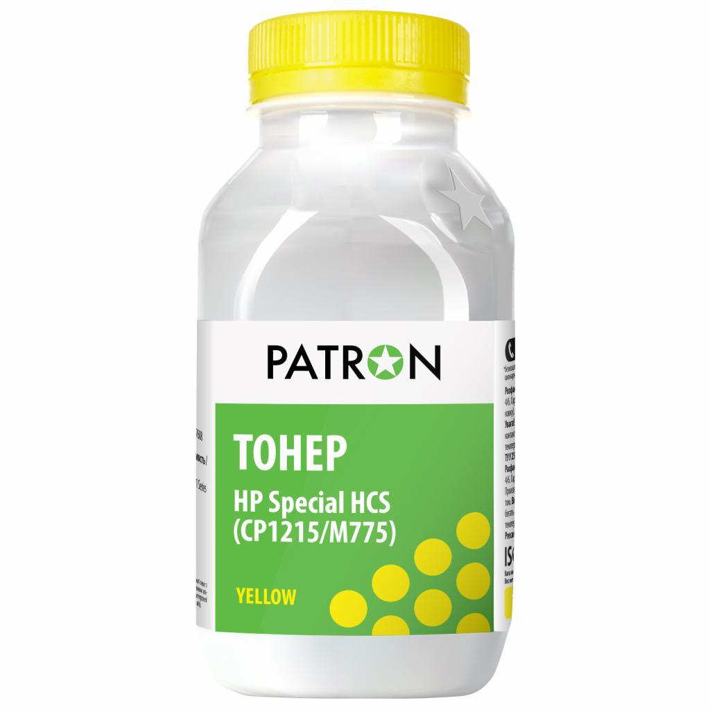 Тонер HP CLJ CP1215/M775 HCS 50 г YELLOW PATRON (T-PN-HCS-Y-050)