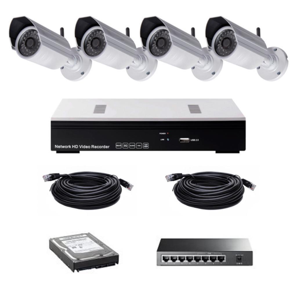 Комплект видеонаблюдения CoVi NVK-3002 POE KIT