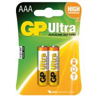 Батарейка GP AAA LR03 ULTRA Alcaline * 2 (24AU-U2)