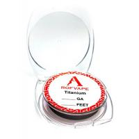 Проволока для спирали Rofvape Ti 10m (24AGW/0.5 mm) (PVTI124)