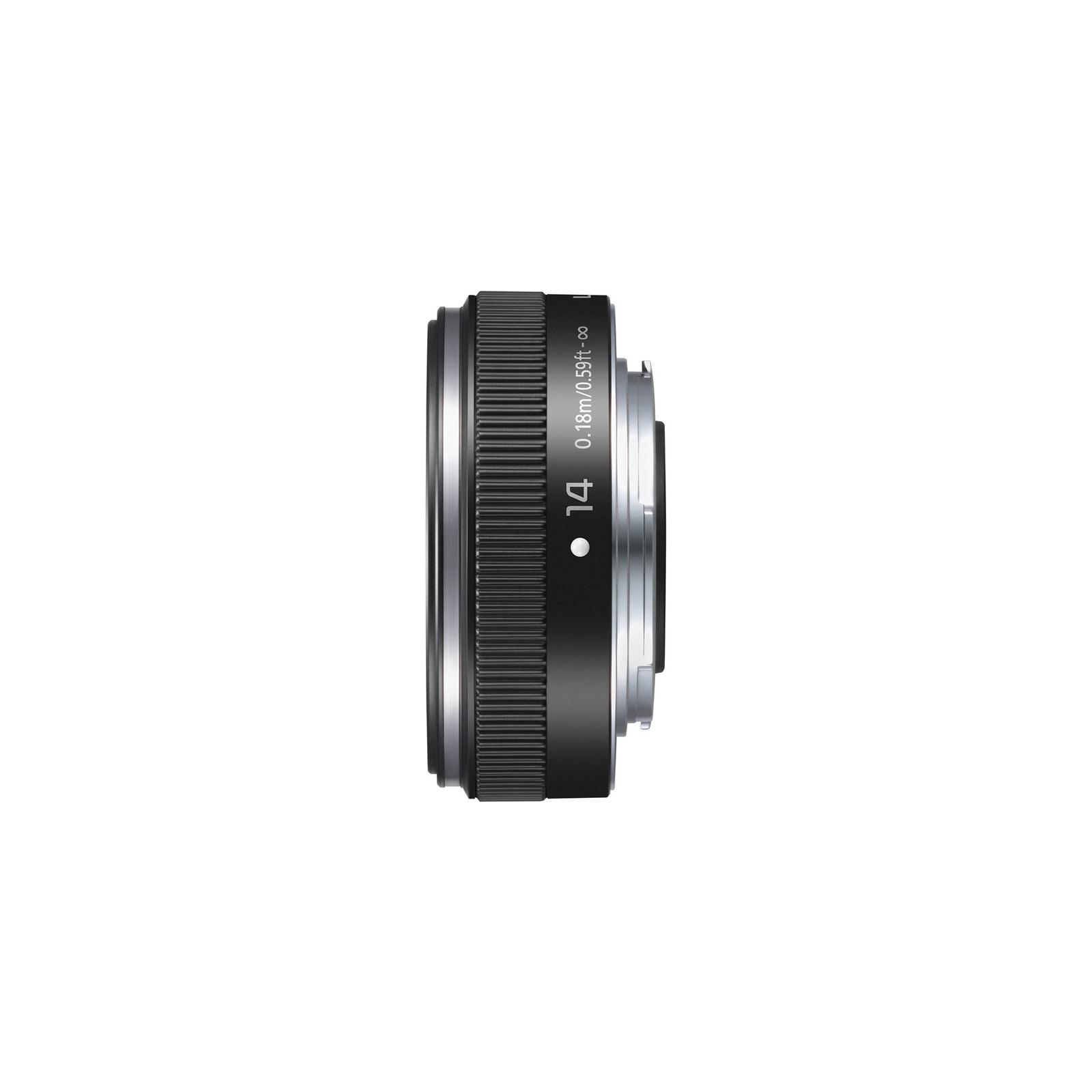 Объектив Panasonic Micro 4/3 Lens 14mm F/2.5 (H-H014AE-K) изображение 2