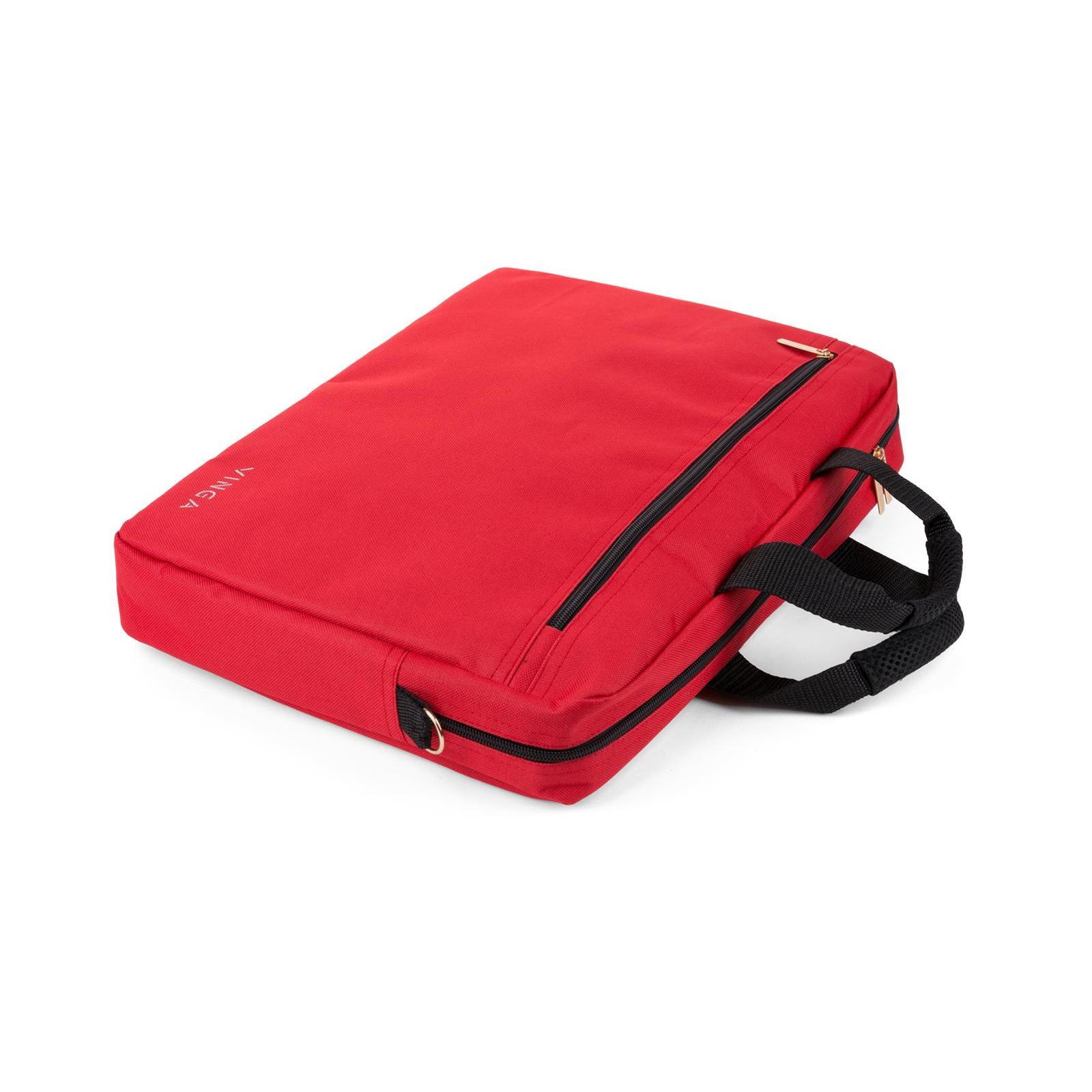 """Сумка для ноутбука Vinga 15.6"""" NB110RD red (NB110RD) изображение 10"""