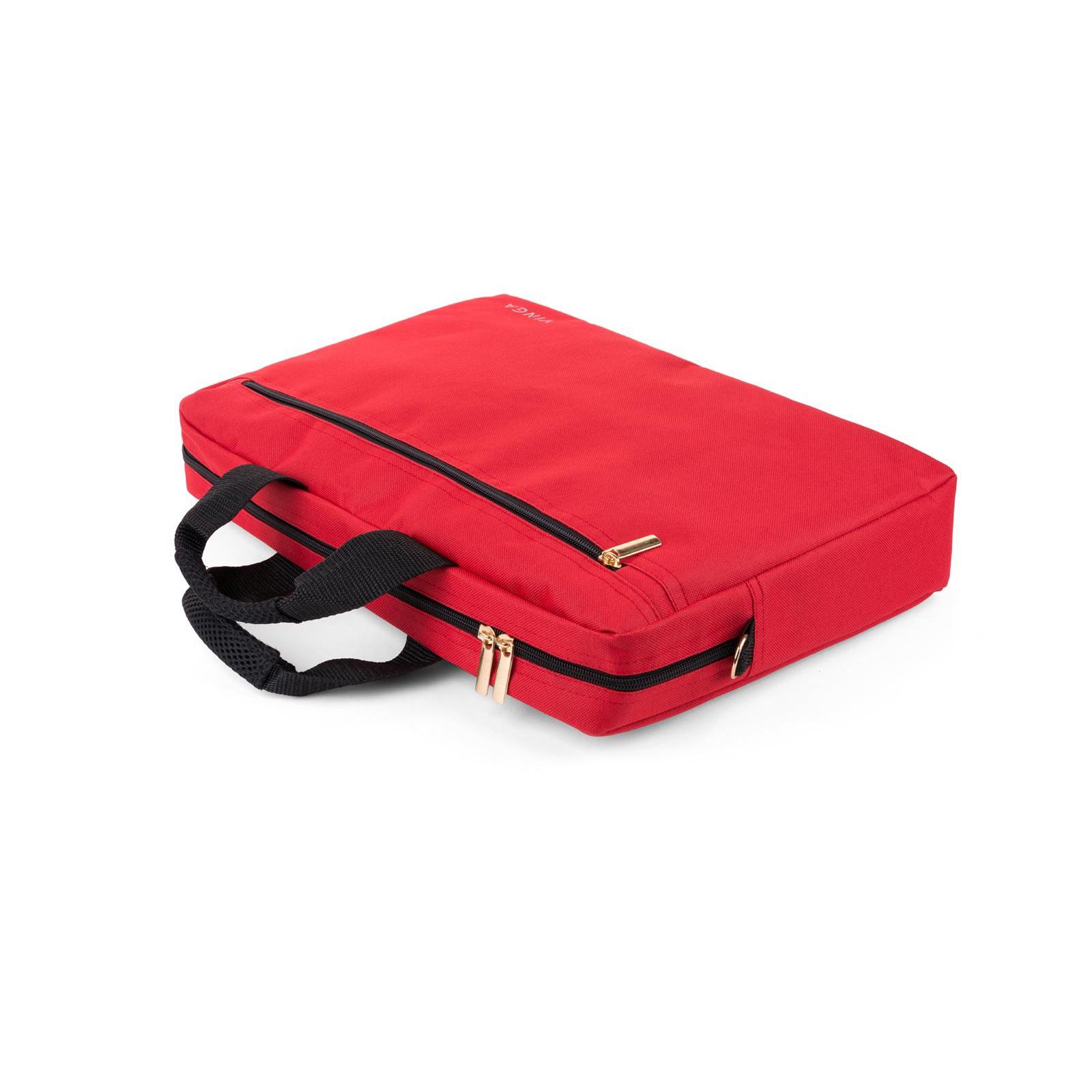 """Сумка для ноутбука Vinga 15.6"""" NB110RD red (NB110RD) изображение 11"""
