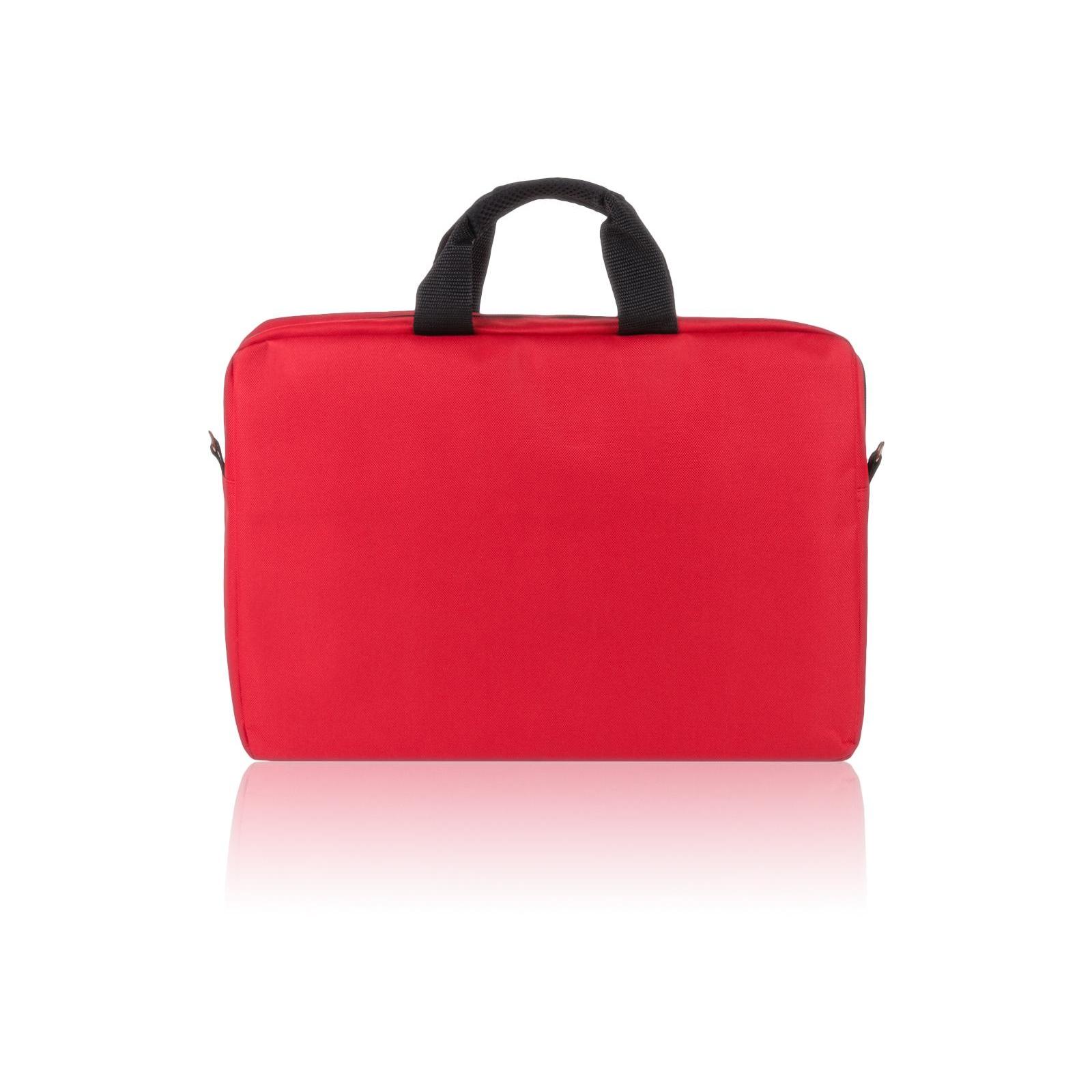 """Сумка для ноутбука Vinga 15.6"""" NB110RD red (NB110RD) изображение 7"""
