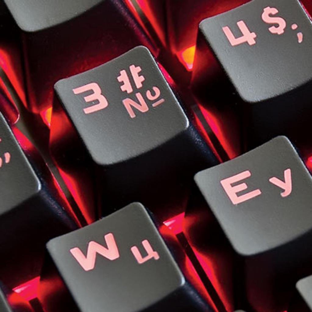 Клавиатура REAL-EL M15 Backlit, black изображение 3