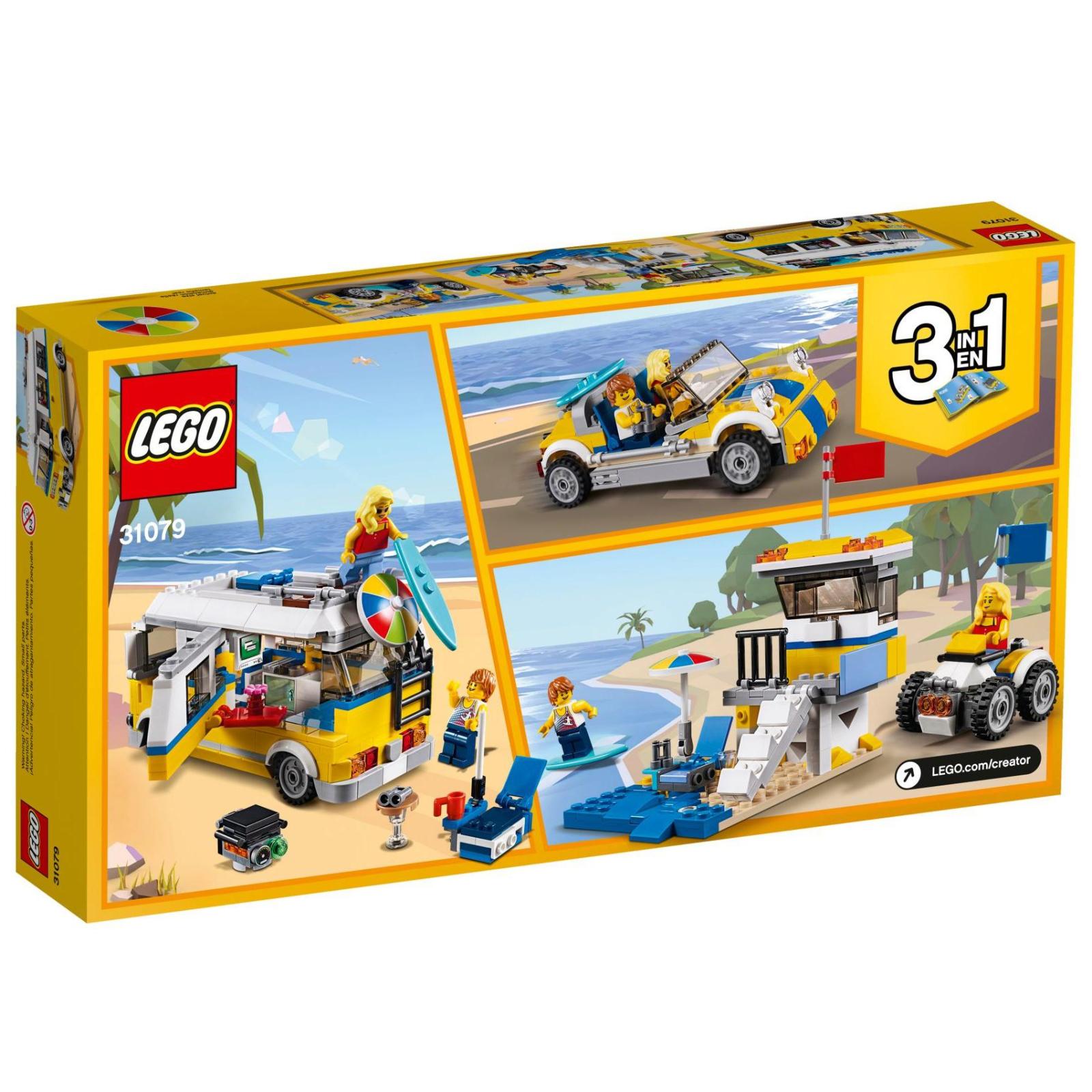 Конструктор LEGO Creator Солнечный фургон серфингиста (31079) изображение 12