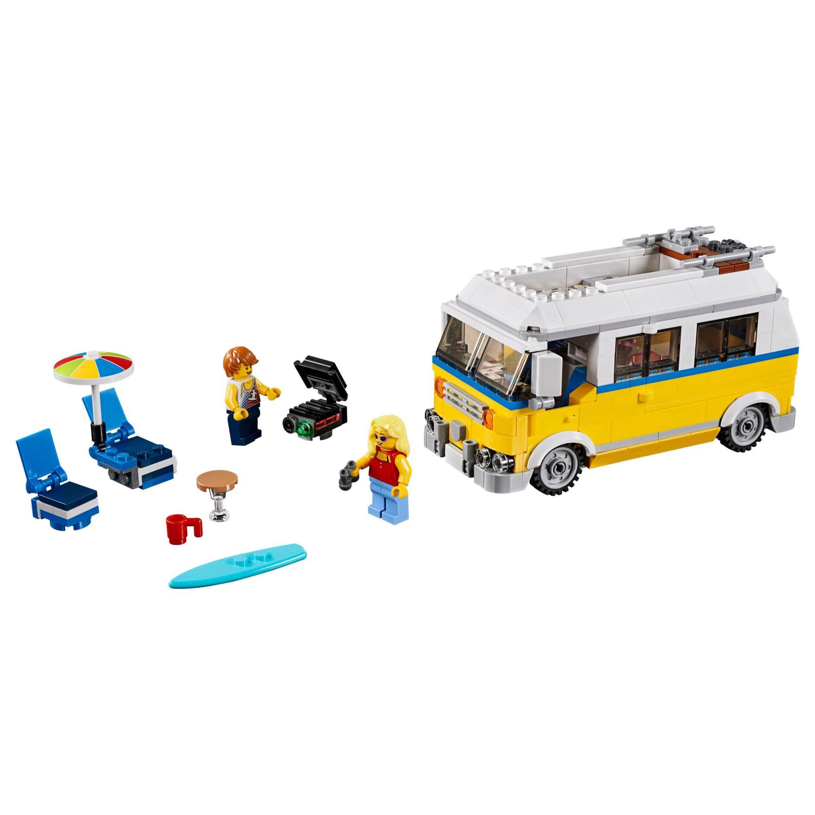 Конструктор LEGO Creator Солнечный фургон серфингиста (31079) изображение 2
