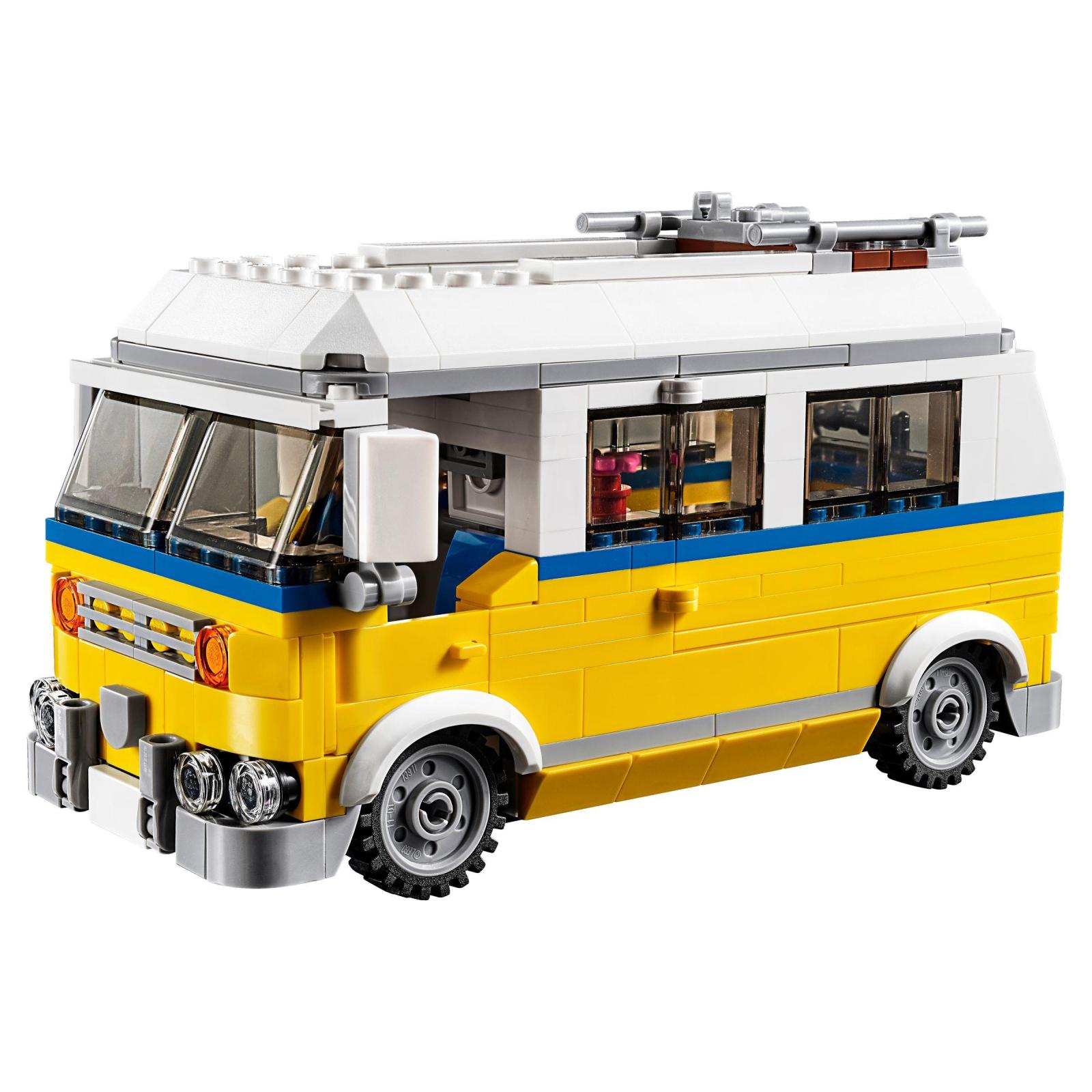 Конструктор LEGO Creator Солнечный фургон серфингиста (31079) изображение 3