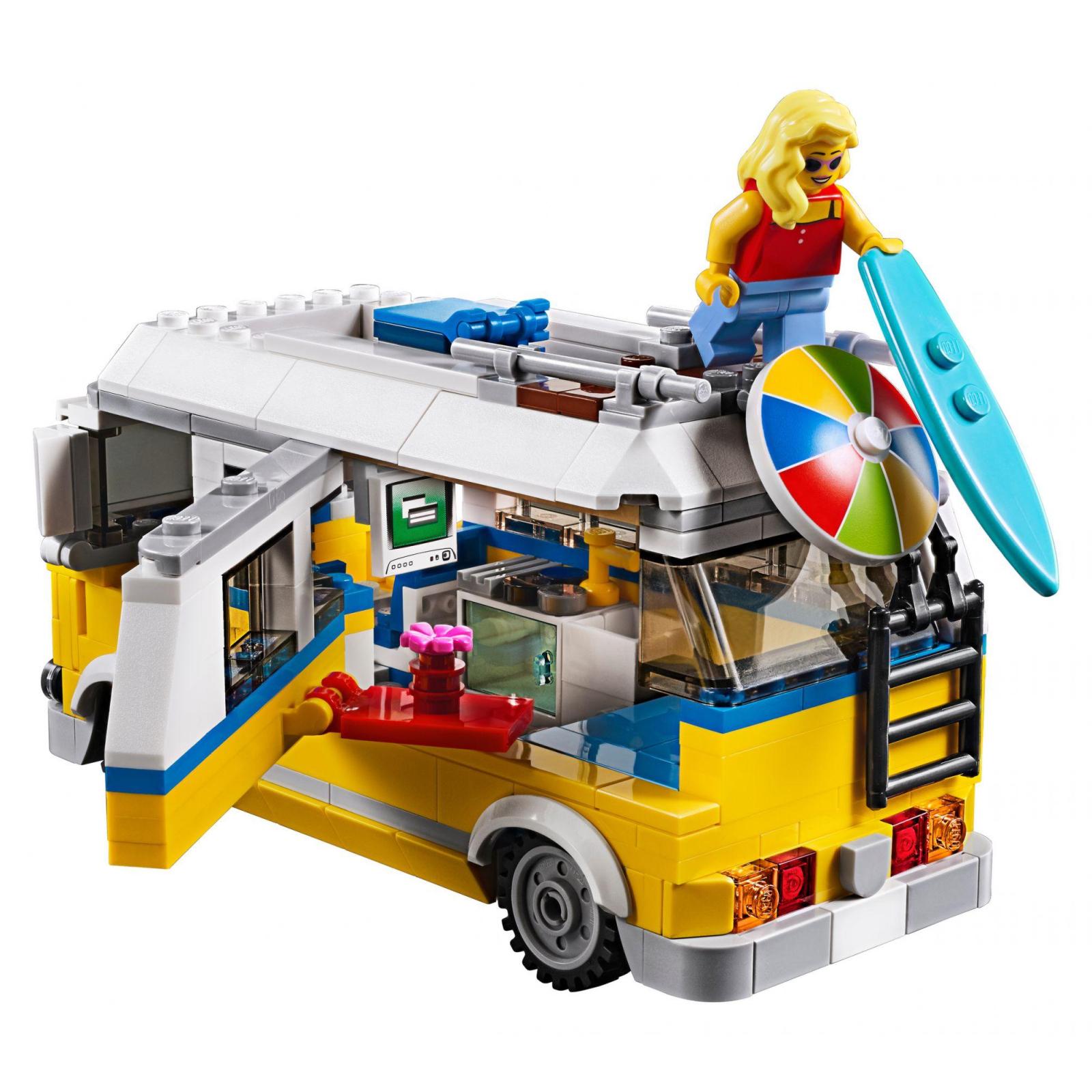 Конструктор LEGO Creator Солнечный фургон серфингиста (31079) изображение 4