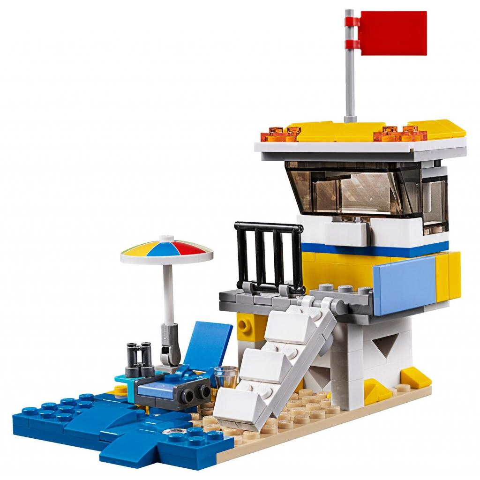Конструктор LEGO Creator Солнечный фургон серфингиста (31079) изображение 7