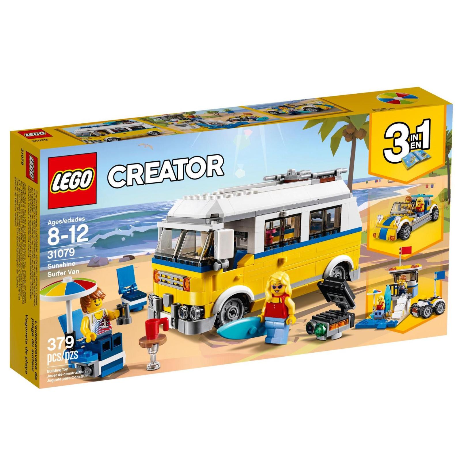Конструктор LEGO Creator Солнечный фургон серфингиста (31079)