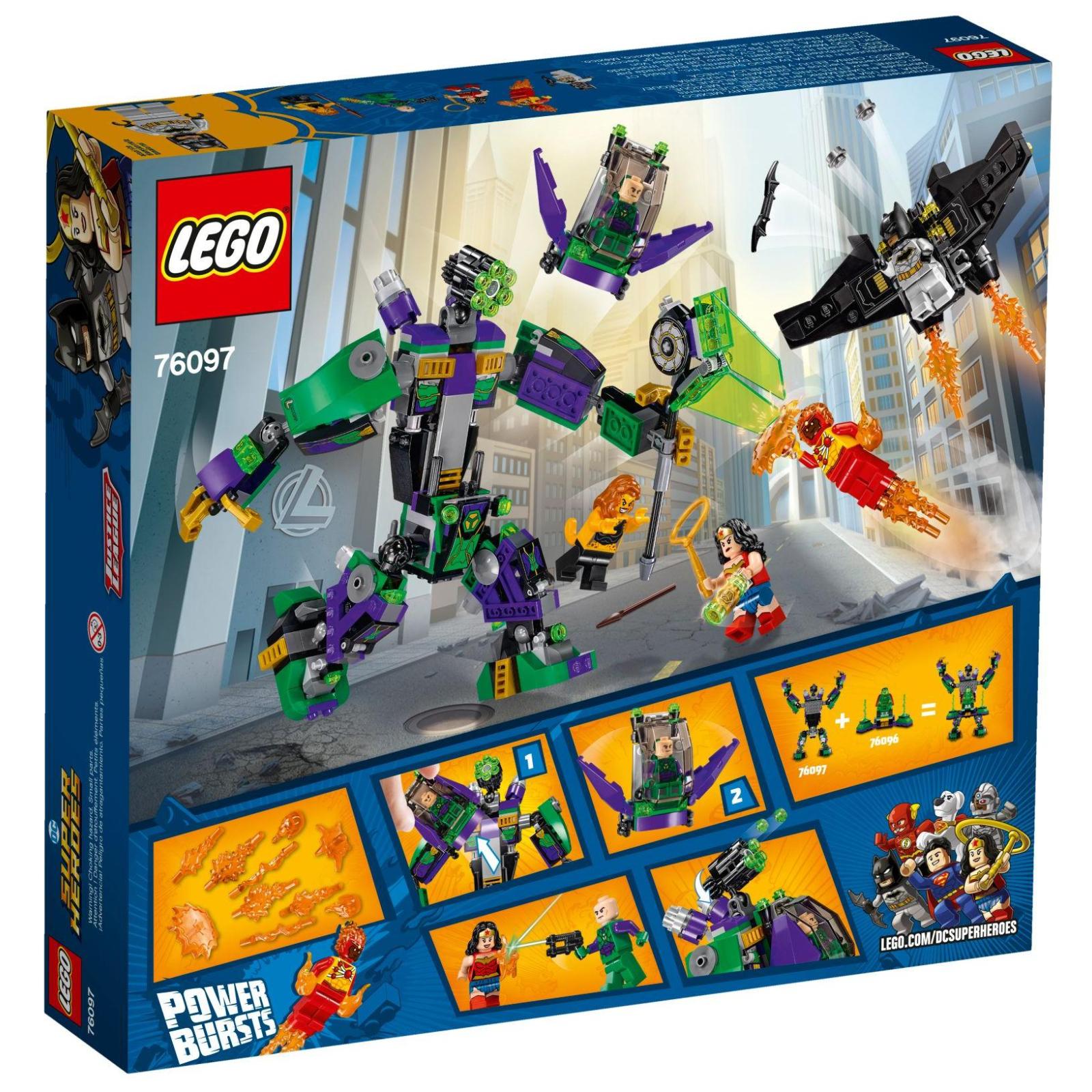 Конструктор LEGO Super Heroes Робоштурм Лекс Лютор (76097) изображение 12