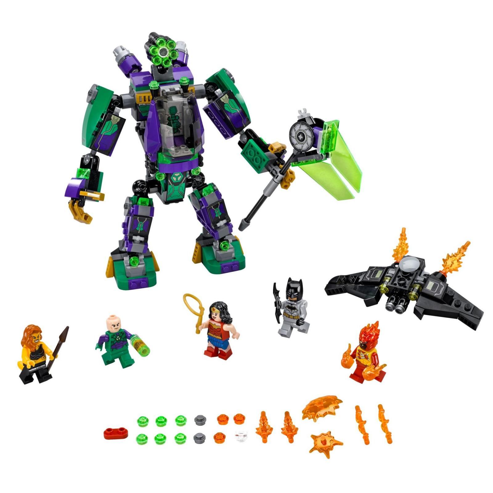 Конструктор LEGO Super Heroes Робоштурм Лекс Лютор (76097) изображение 2