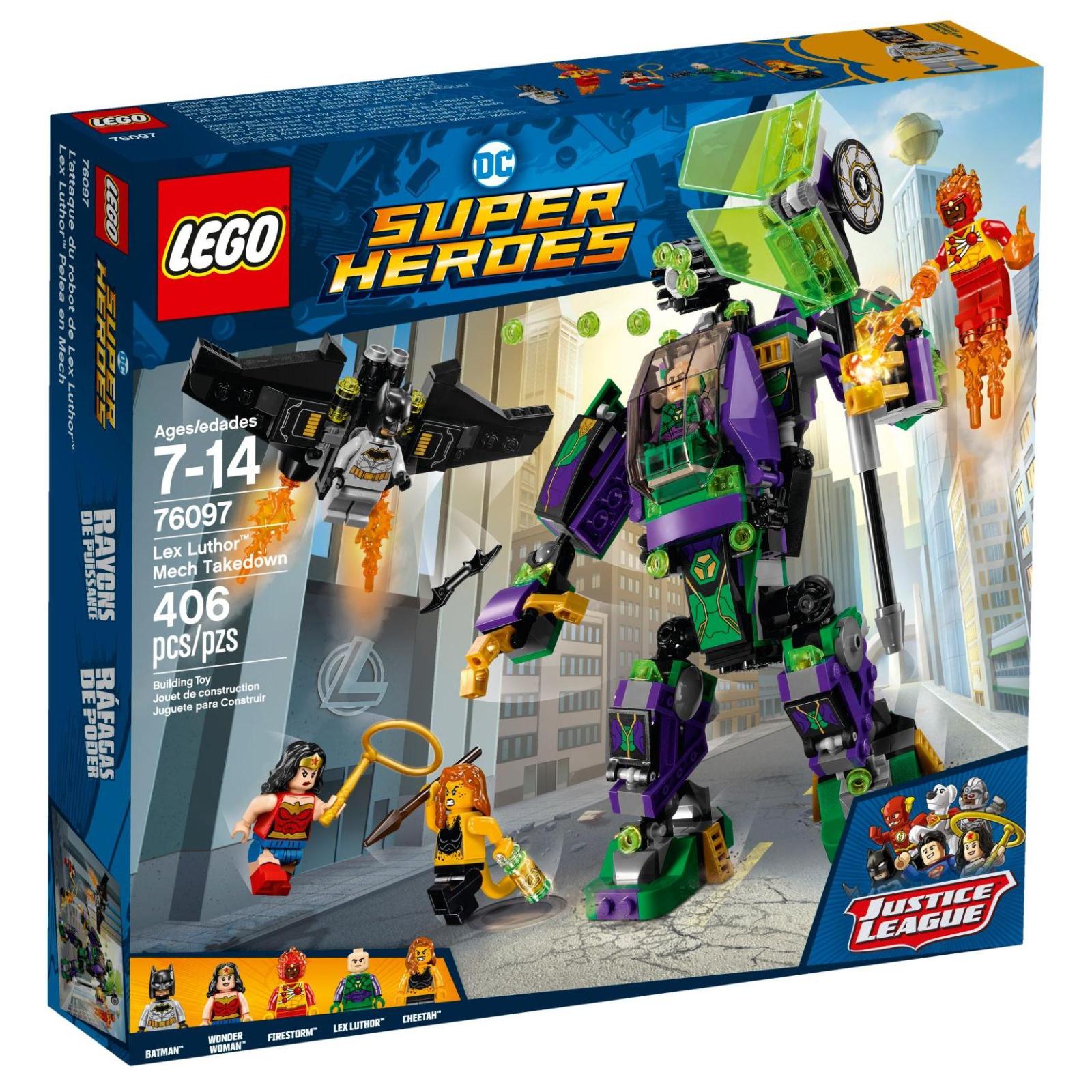 Конструктор LEGO Super Heroes Робоштурм Лекс Лютор (76097)